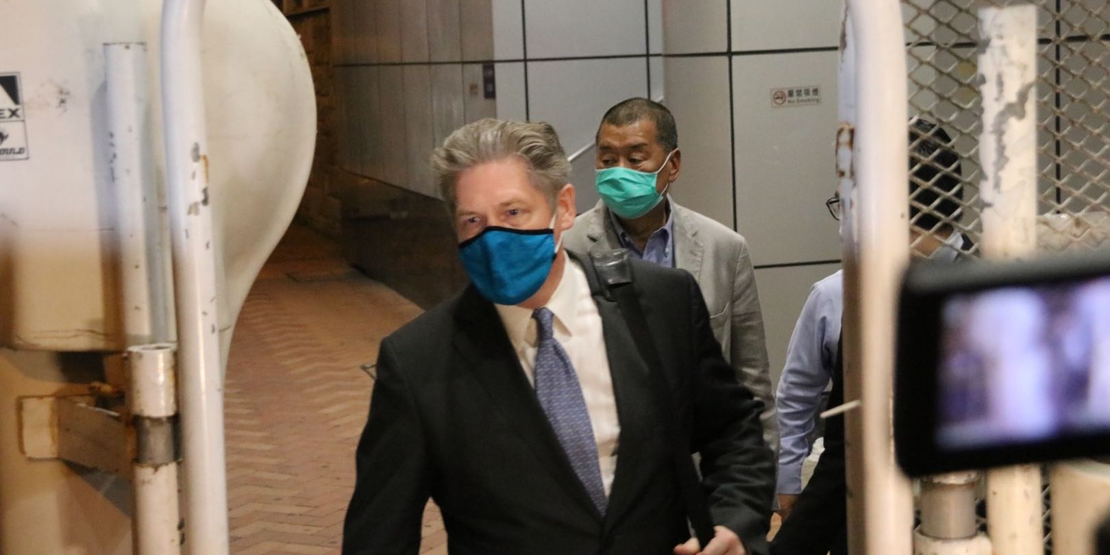 涉違香港國安法  黎智英今晚獲准保釋