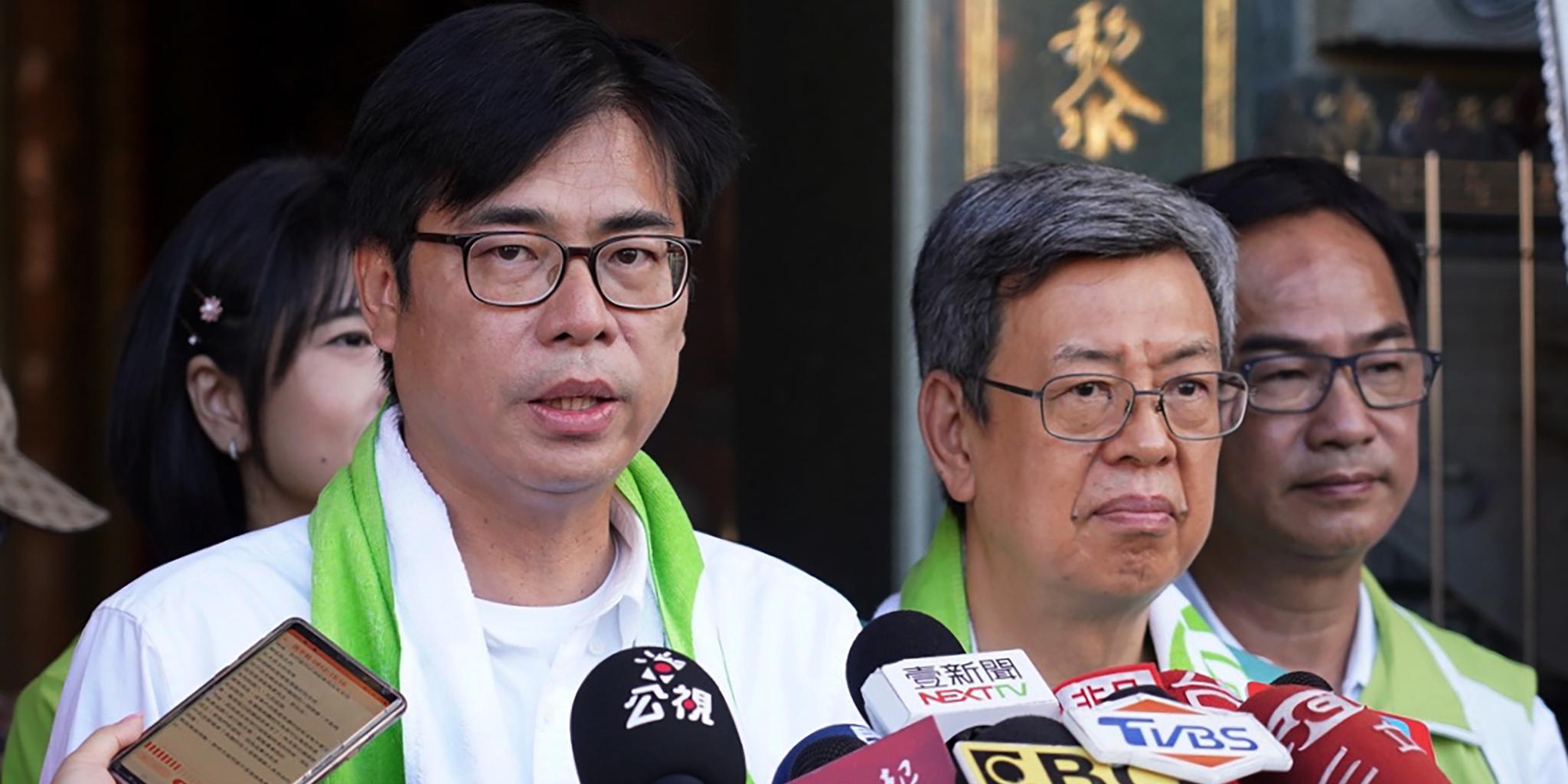 陳其邁當選雄高雄市長