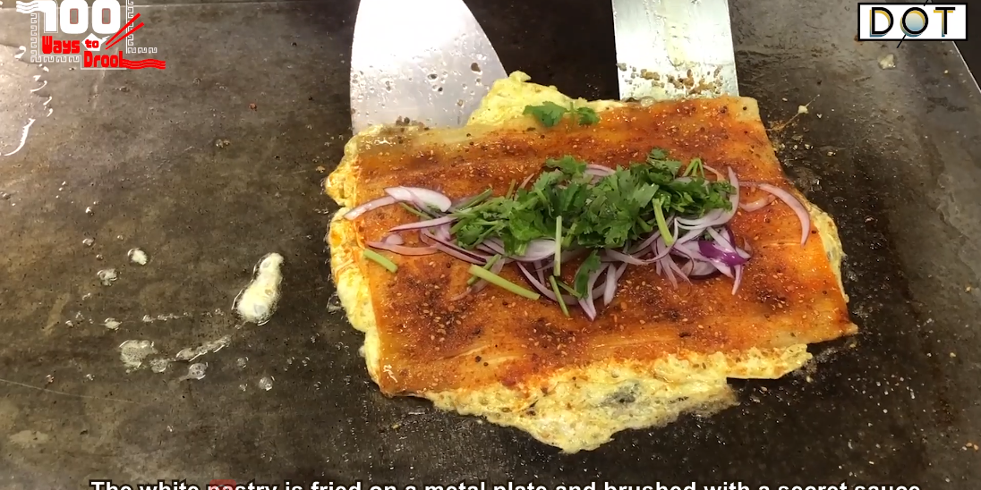100 Ways To Drool|Chewy delicacy Harbin Toast Cold Noodles