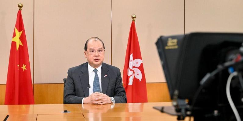 張建宗:國安法讓「一國兩制」更牢固