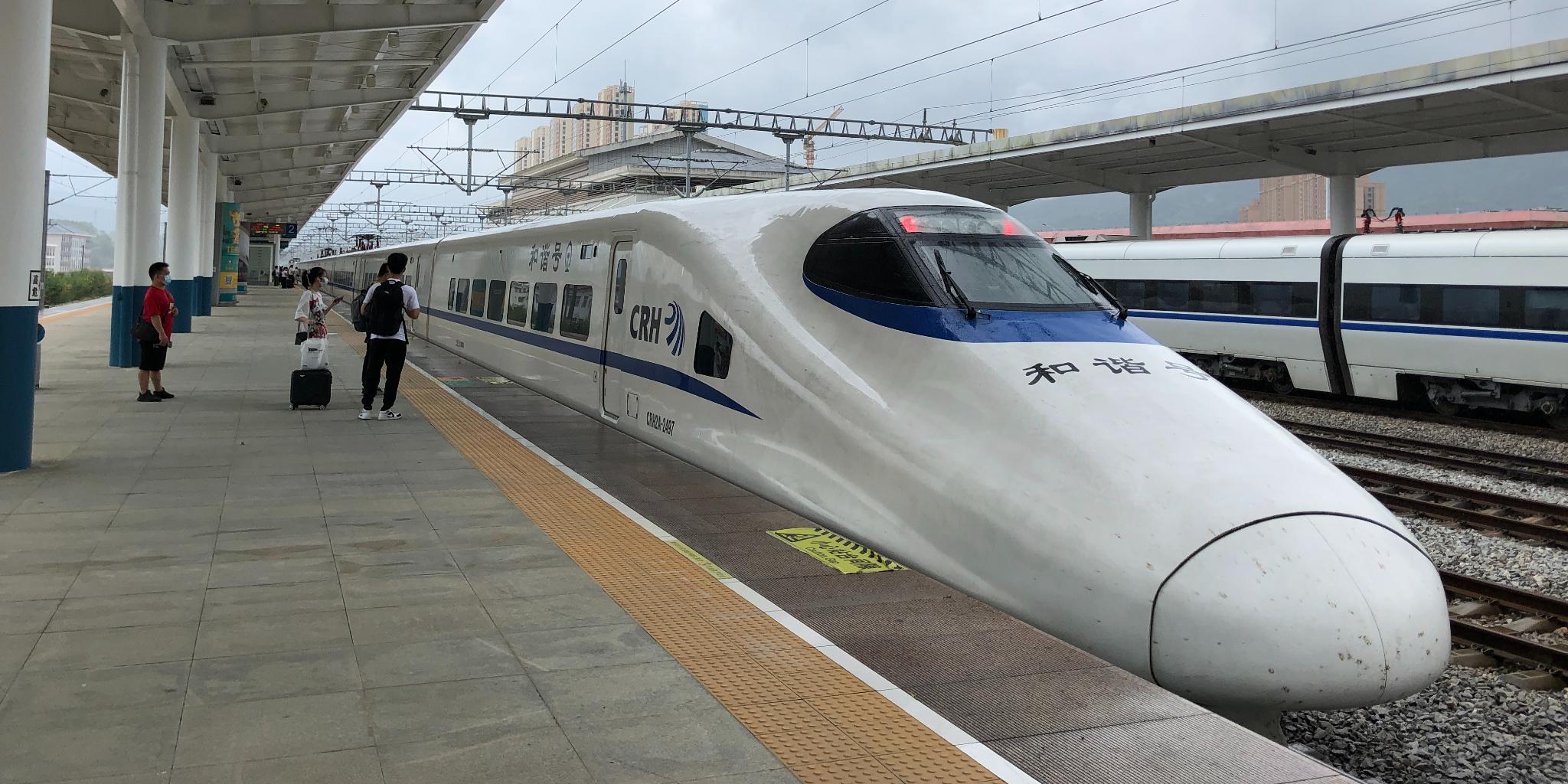 廣鐵擬開行千對高鐵迎中秋國慶高峰客流