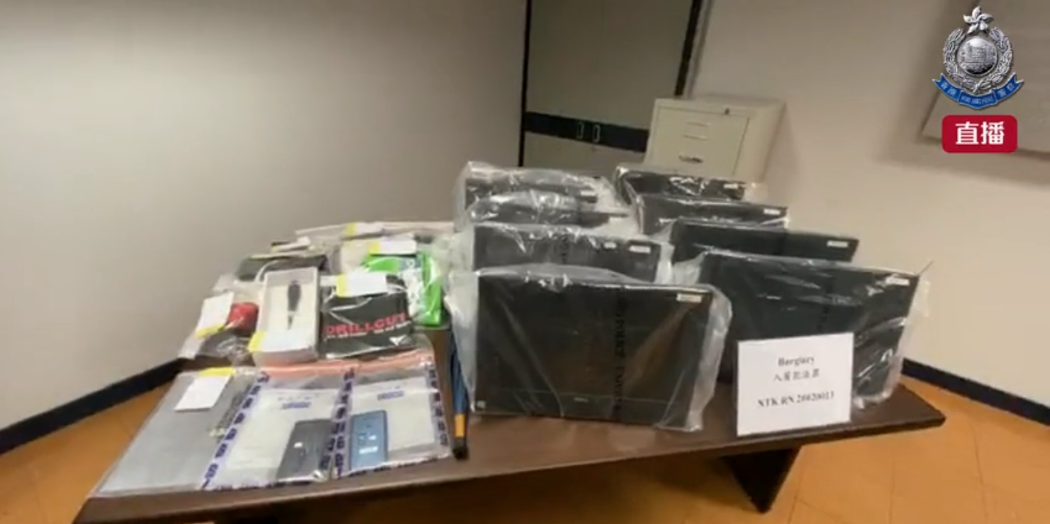 涉爆竊多間學校電腦財物  2男被捕