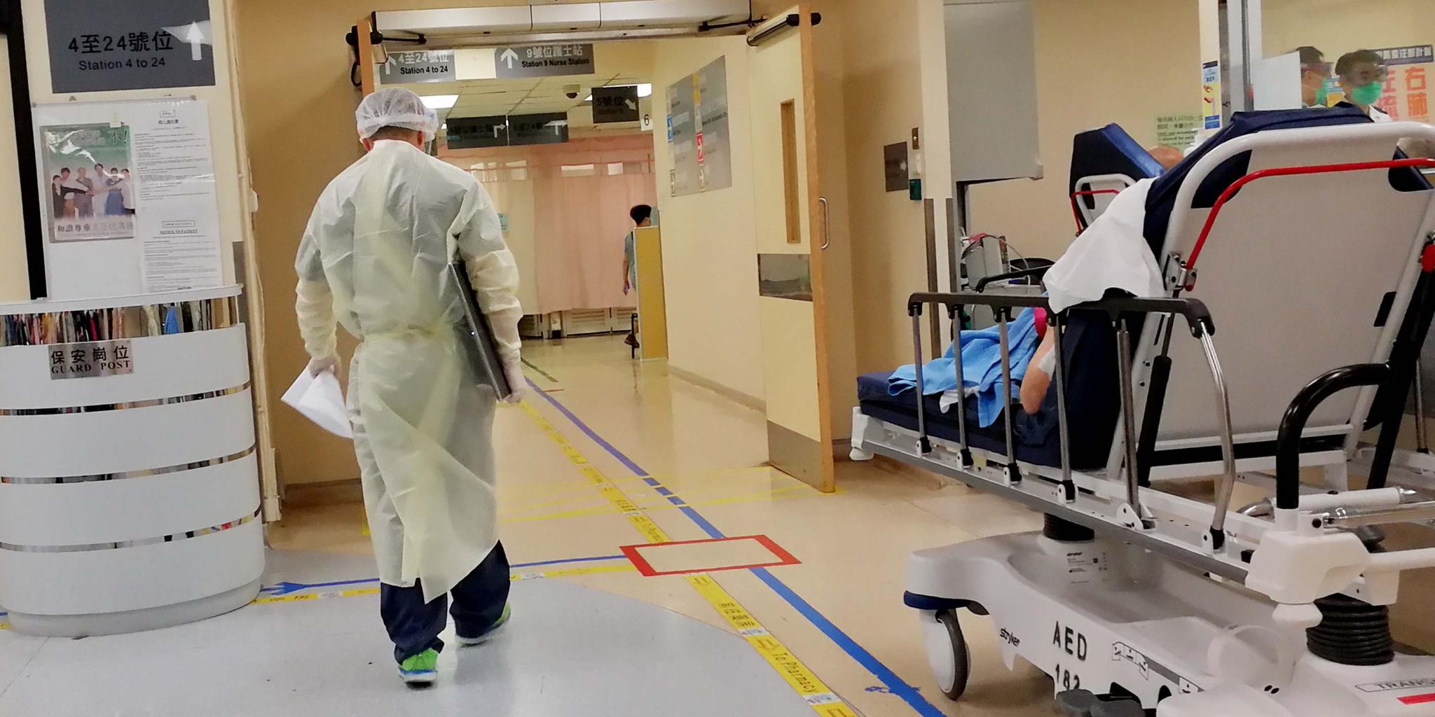 再多20確診病人康復 167人留院12危殆