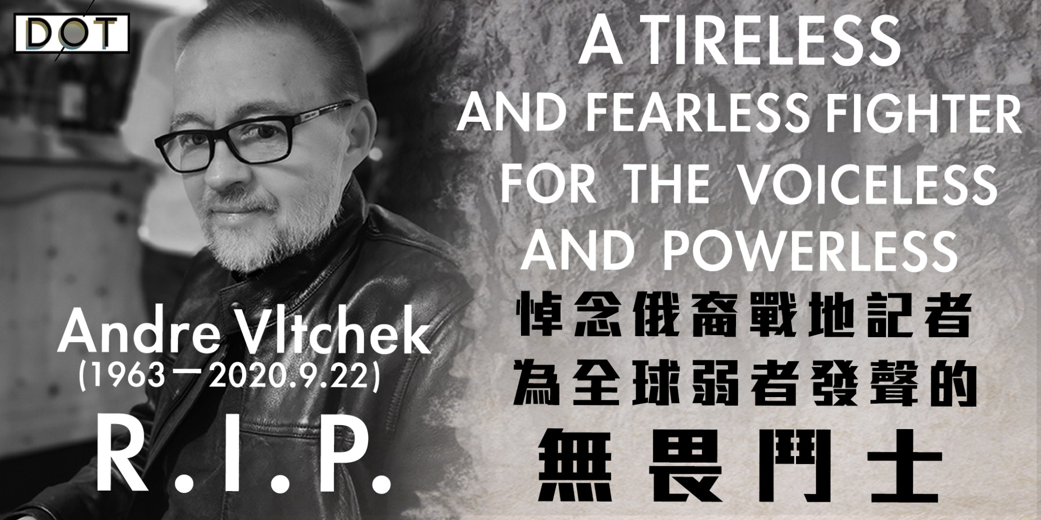 RIP, Andre Vltchek: A tireless and fearless fighter for the voiceless and powerless