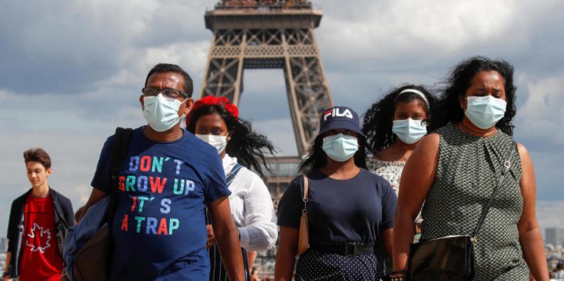 法國疫情反彈 多地實施嚴格限制措施