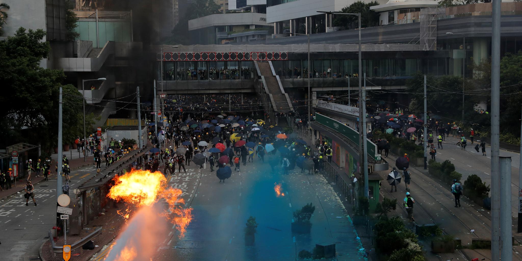 「民陣」煽十一遊行  警發反對通知書
