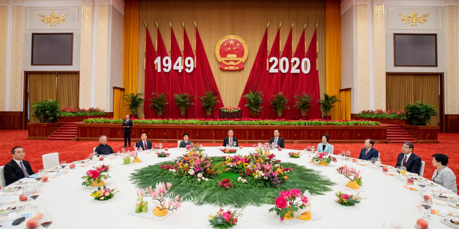 汪洋:支持香港做好實施維護國家安全法相關工作