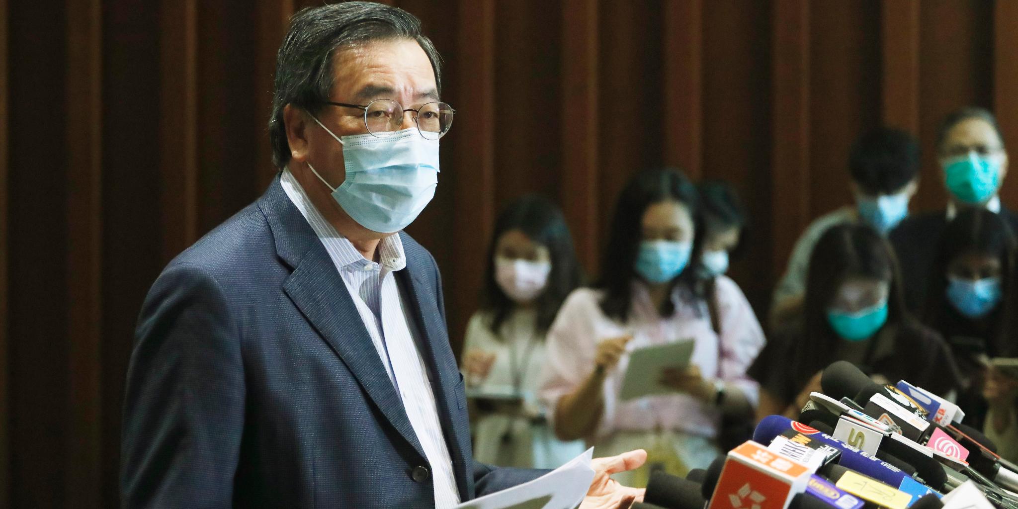 梁君彥歡迎反對派議員繼續履職