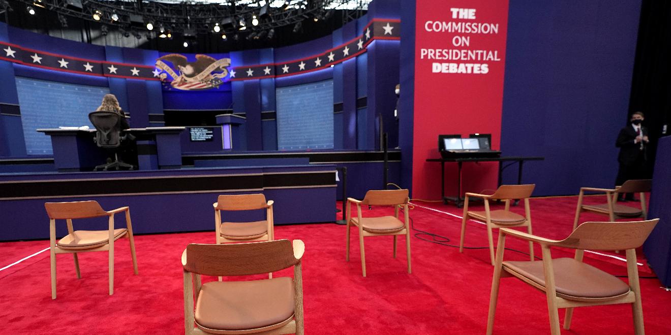 特朗普與拜登今早舉行首場辯論