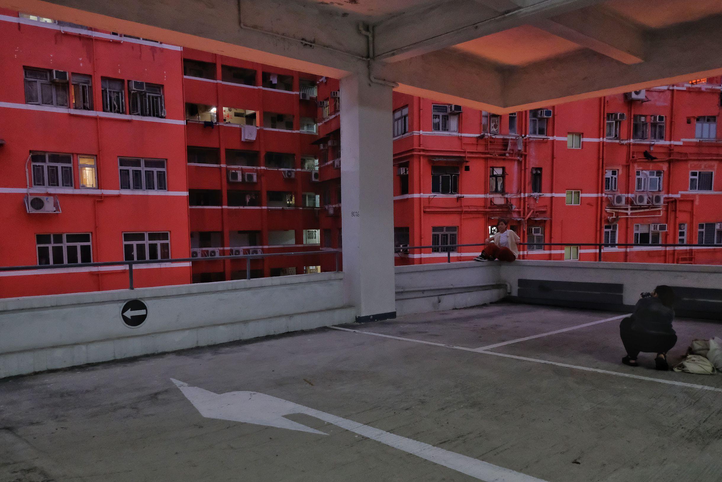 由明年1月1日起,停車場將全面封閉並終止營運。運輸署會適時公布下一階段的封閉安排。(點新聞記者麥鈞傑攝)