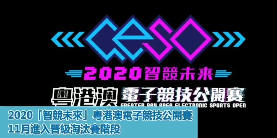 「智競未來」粵港澳電競賽 香港賽區第二周冠軍誕生