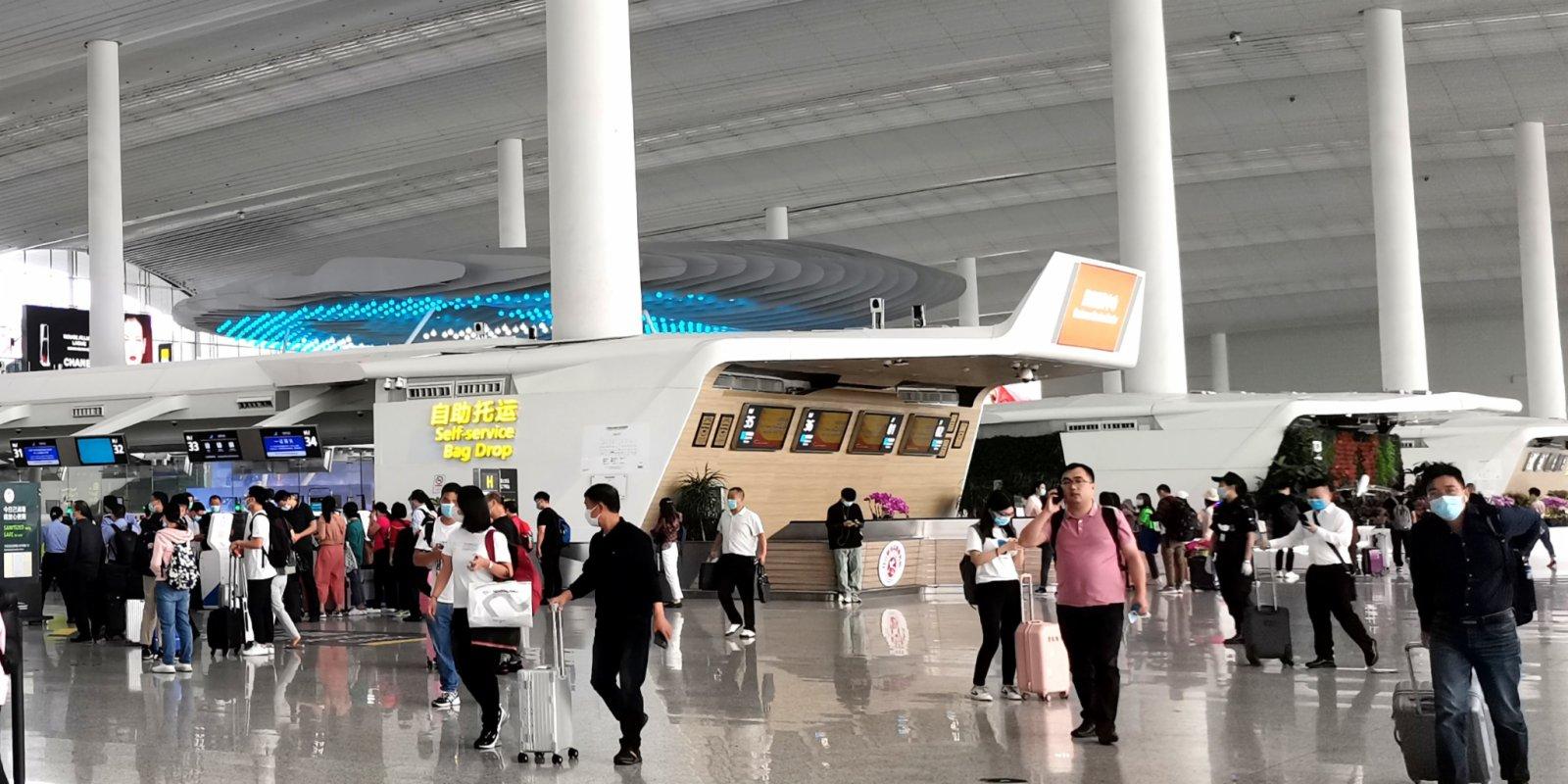 廣州白雲機場成疫後全國復甦最快機場
