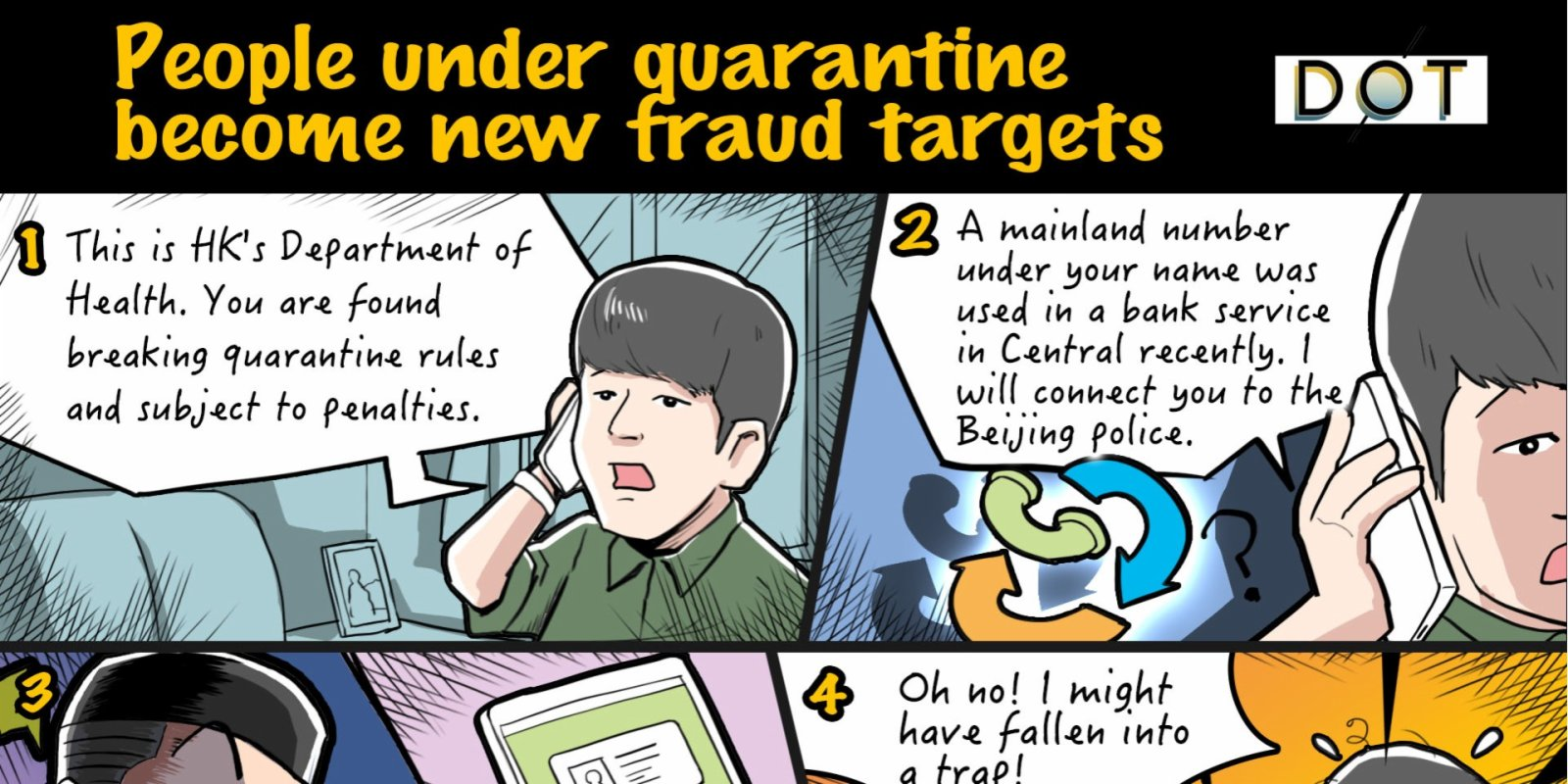 Exclusive Case | People under quarantine become new fraud targets