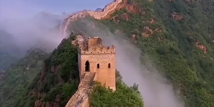 OMG | Spectacular scenes from above: The Great Wall of China