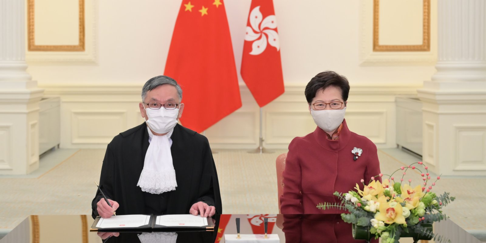 Andrew Cheung sworn in as HK's Chief Justice