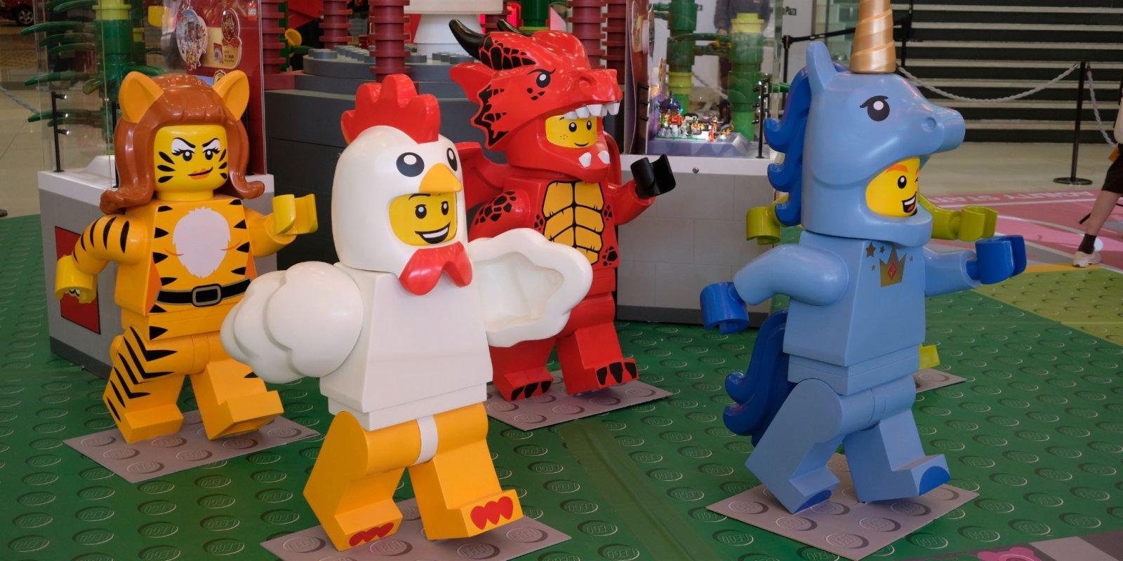 圖集 牛年Power Up!12生肖LEGO現身新城市廣場賀新春