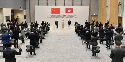 新華述評|公務員宣誓助重塑香港政治風氣護「一國兩制」行穩致遠