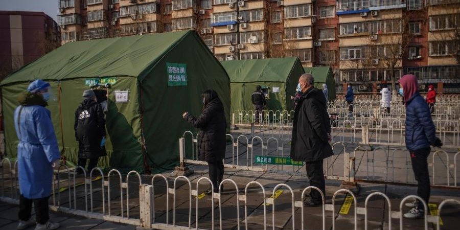 Three Chinese cities resume mass testing to halt COVID-19