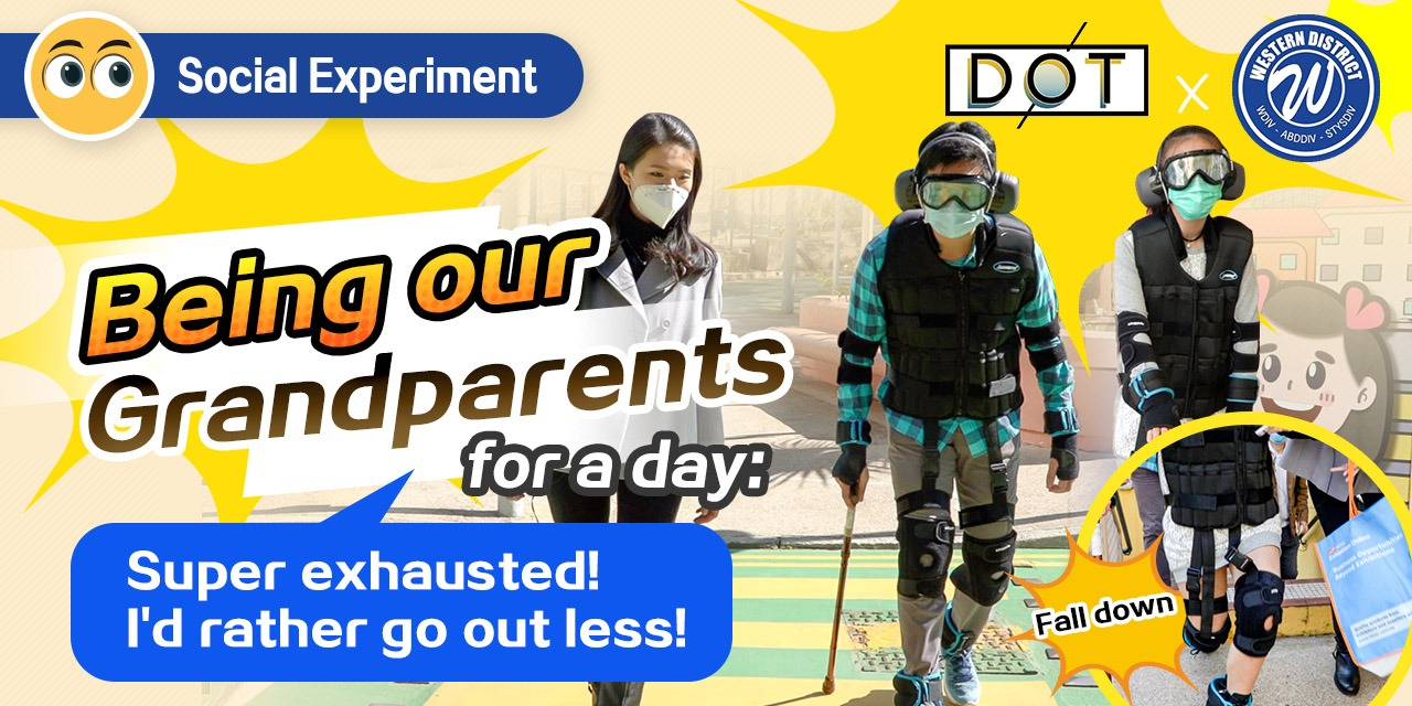 Watch This | Being our grandparents for a day: Super exhausted! I'd rather go out less! - Social Experiment