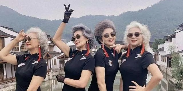OMG | Beijing stylish-classy grannies break stereotypes for Chinese aunties: we're the coolest!