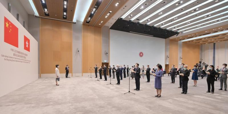 HK district councilors who violate oath face disqualification