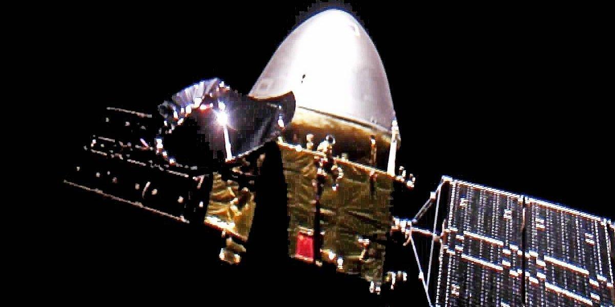 China's Tianwen-1 probe enters parking orbit around Mars