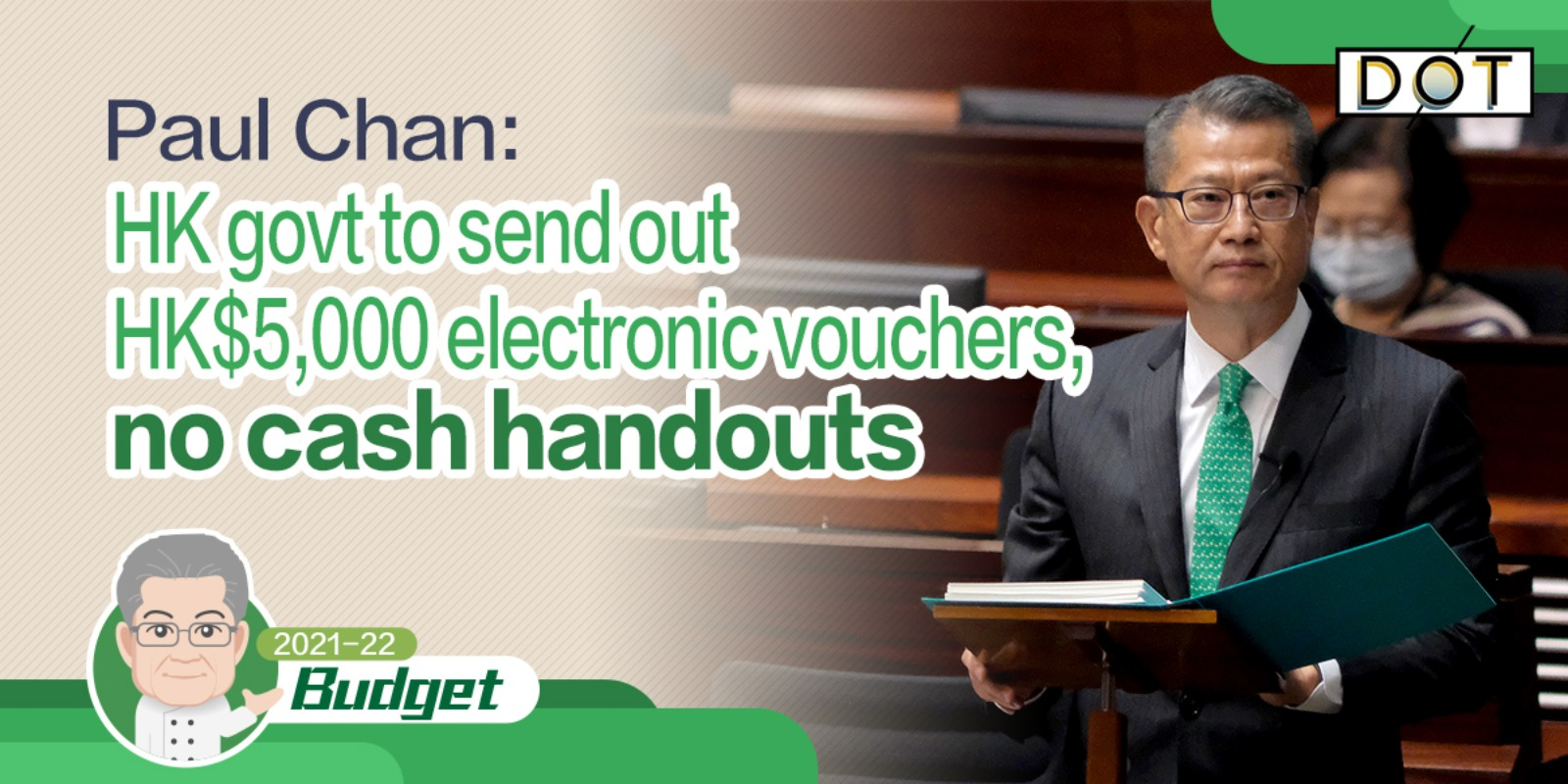 Budget | HK govt to send out HK$5,000 electronic vouchers, no cash handouts