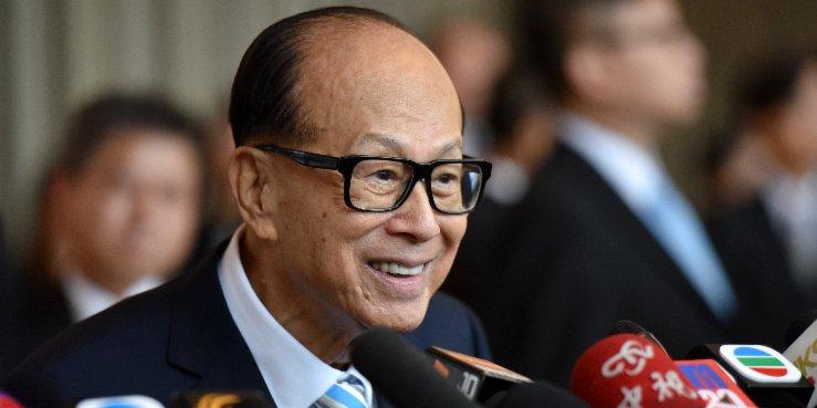 Forbes: Li Ka-shing reclaims position as HK's richest