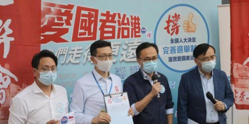 圖集|多團體續擺街站 撐完善香港選舉制度