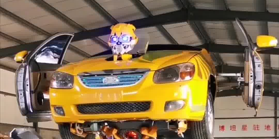 OMG | No special effect! Transformer Bumblebee made by Chinese factory