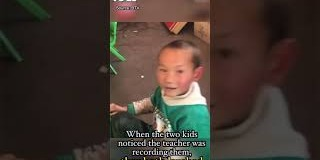OMG | 5-year-old Chinese boy good at making a bun (hairstyle) for girl