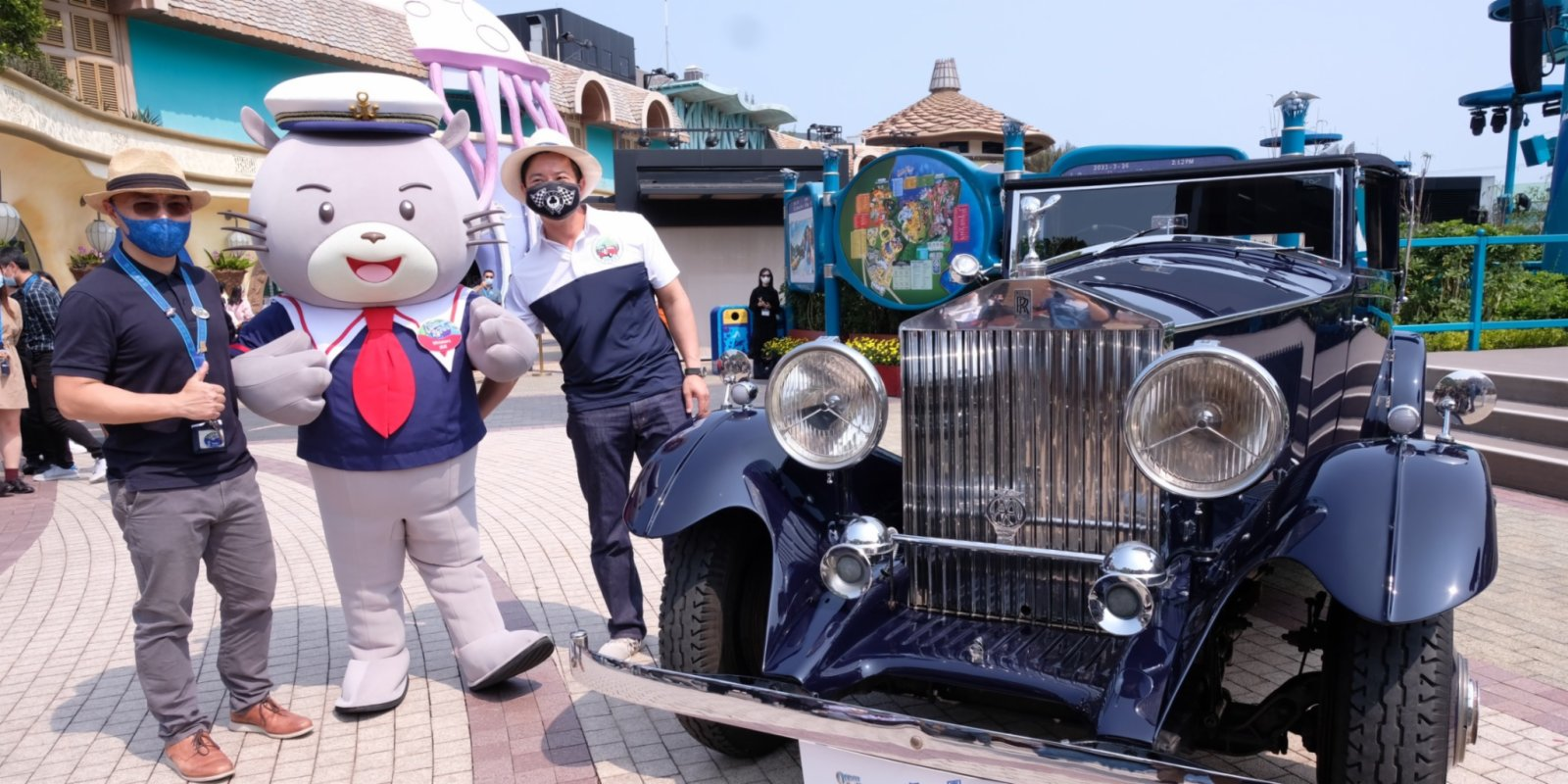 海洋公園首次辦車展 珍藏古董老爺車周末亮相