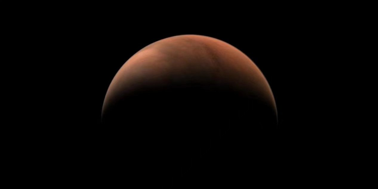 China releases side images of Mars from Tianwen-1 probe