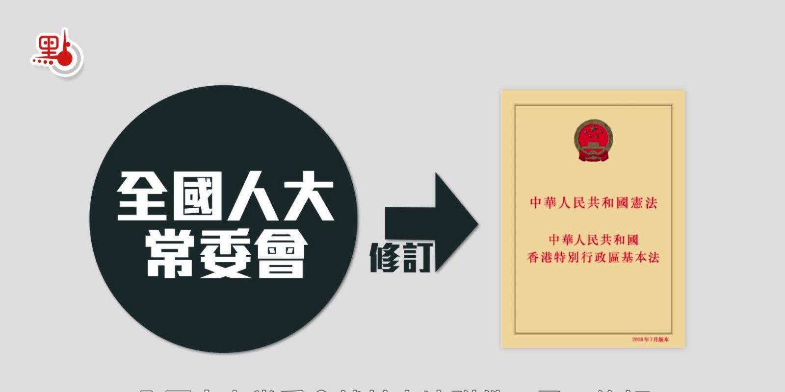 動畫 速看完善香港選舉制度細節