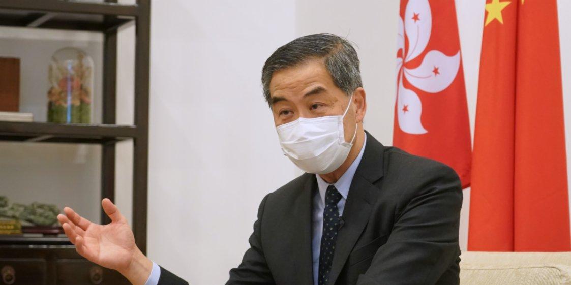 梁振英痛斥藍韜文:是基本法決定香港選制而非《中英聯合聲明》