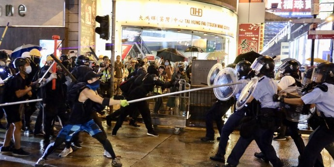 Over 2,500 arrested over HK's social unrest involve in judicial proceedings