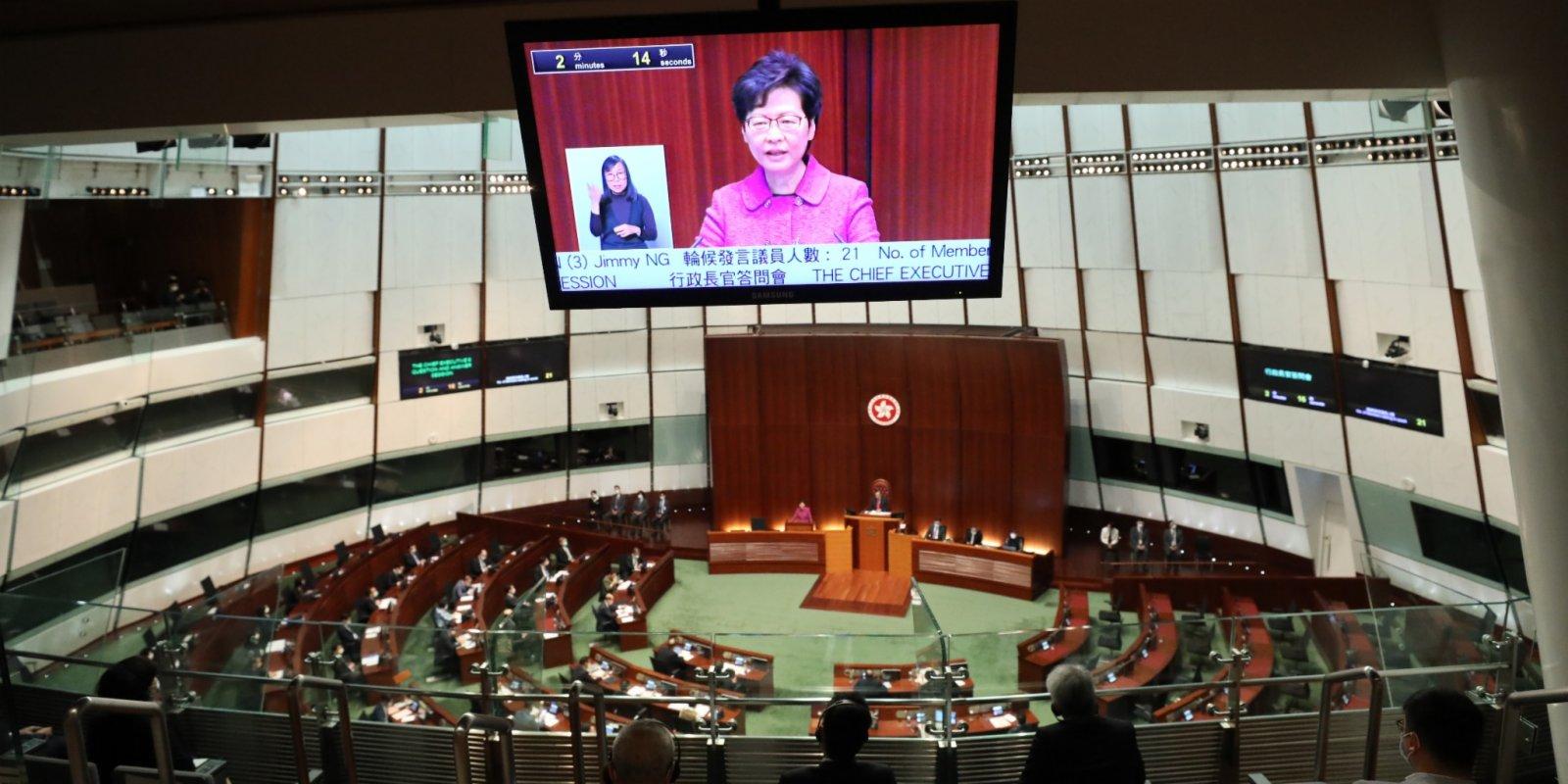 CE: HKSAR govt to boost civil servants' governance capability