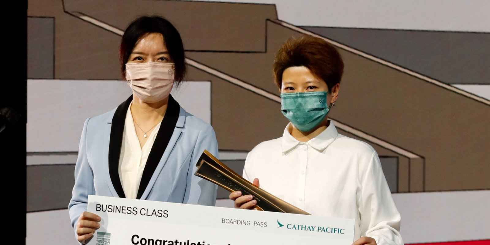 盧新寧出席2019年度香港傑出運動員選舉頒獎典禮