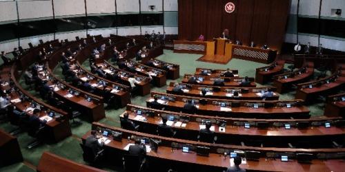 修訂選制條例草案今立會首讀