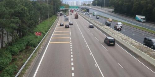 吐露港公路多宗交通意外 涉逾10輛車