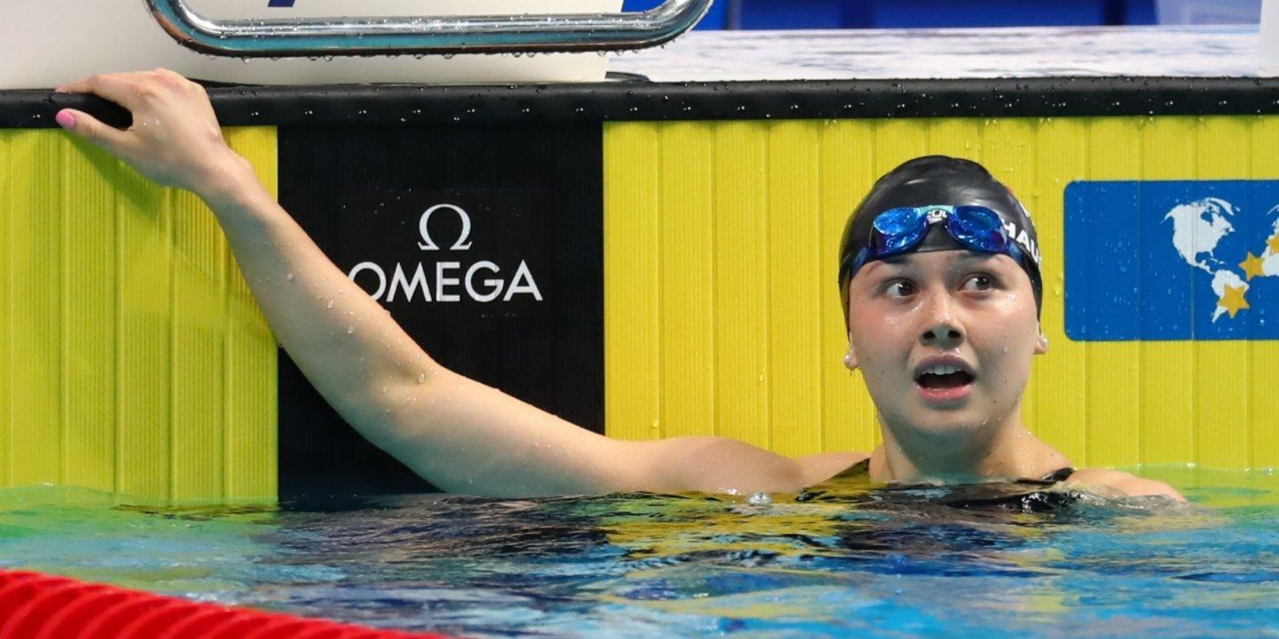 何詩蓓50米捷泳自破港績 達奧運A標再添入場券