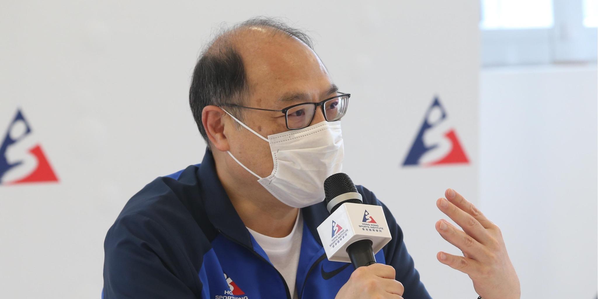 林大輝:逾500運動員及教練已打疫苗 積極備戰奧運