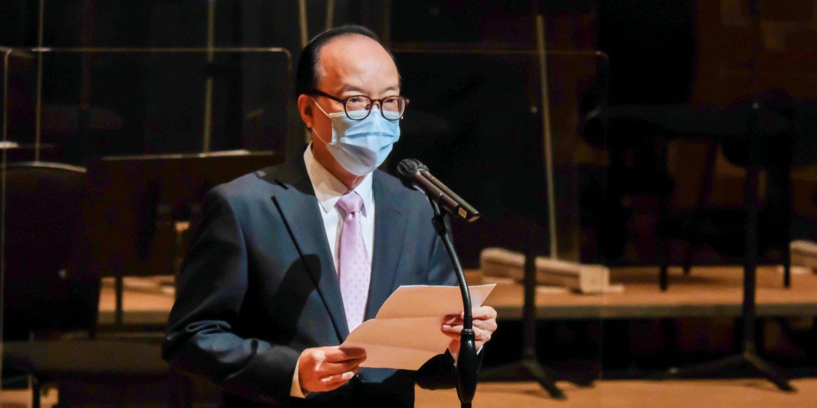 馬逢國歡迎政府購東京奧運轉播權 未來視業界態度決定