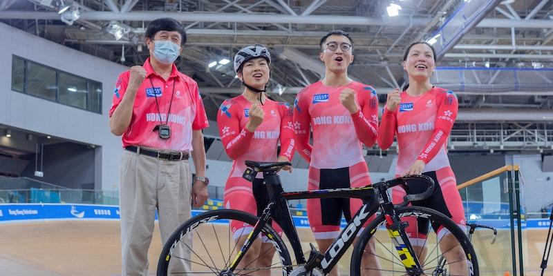 國家盃場地單車賽獲「M」品牌認可 明起閉門開賽