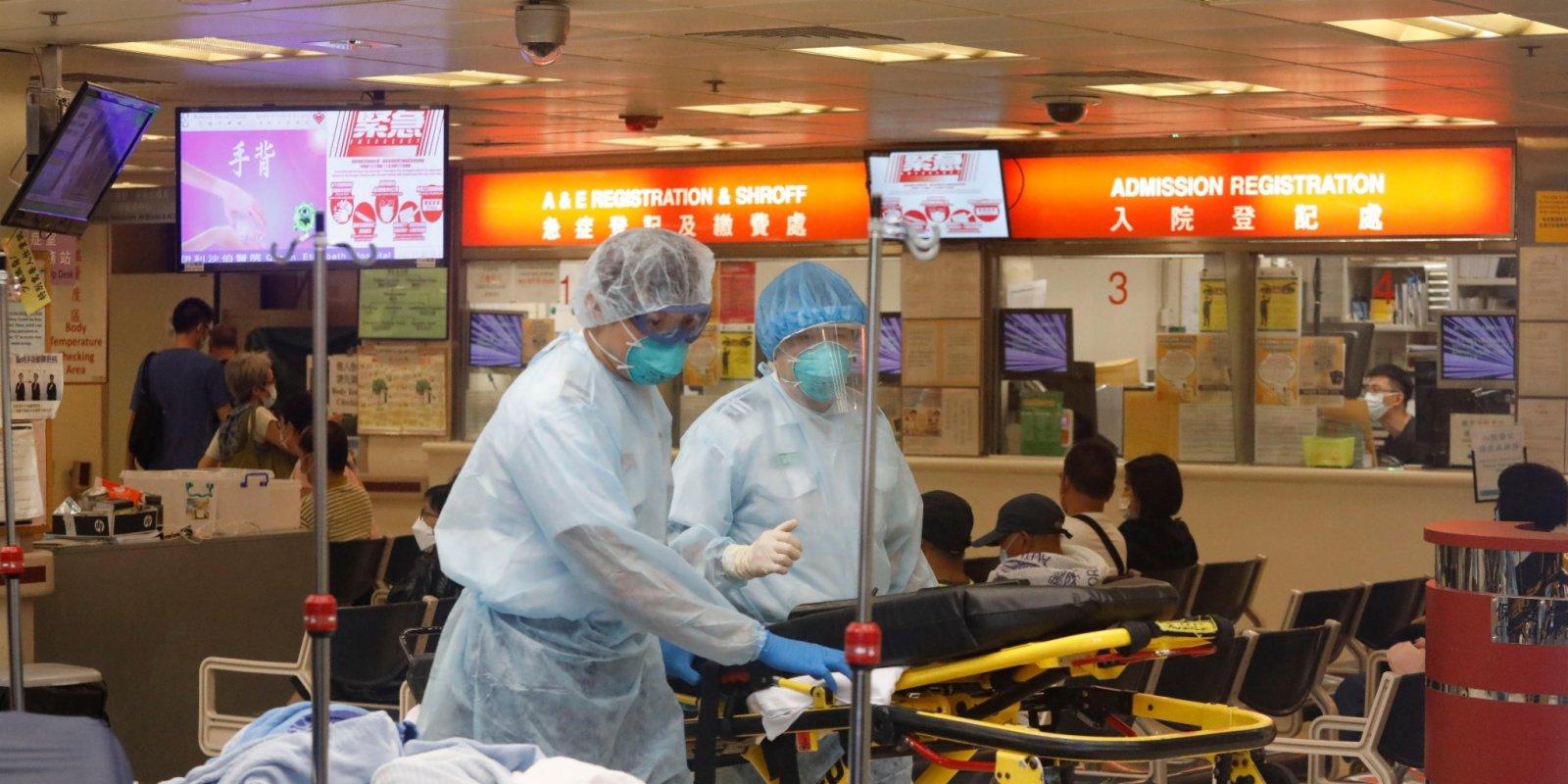 再多2名確診者出院 67人仍留醫2危殆