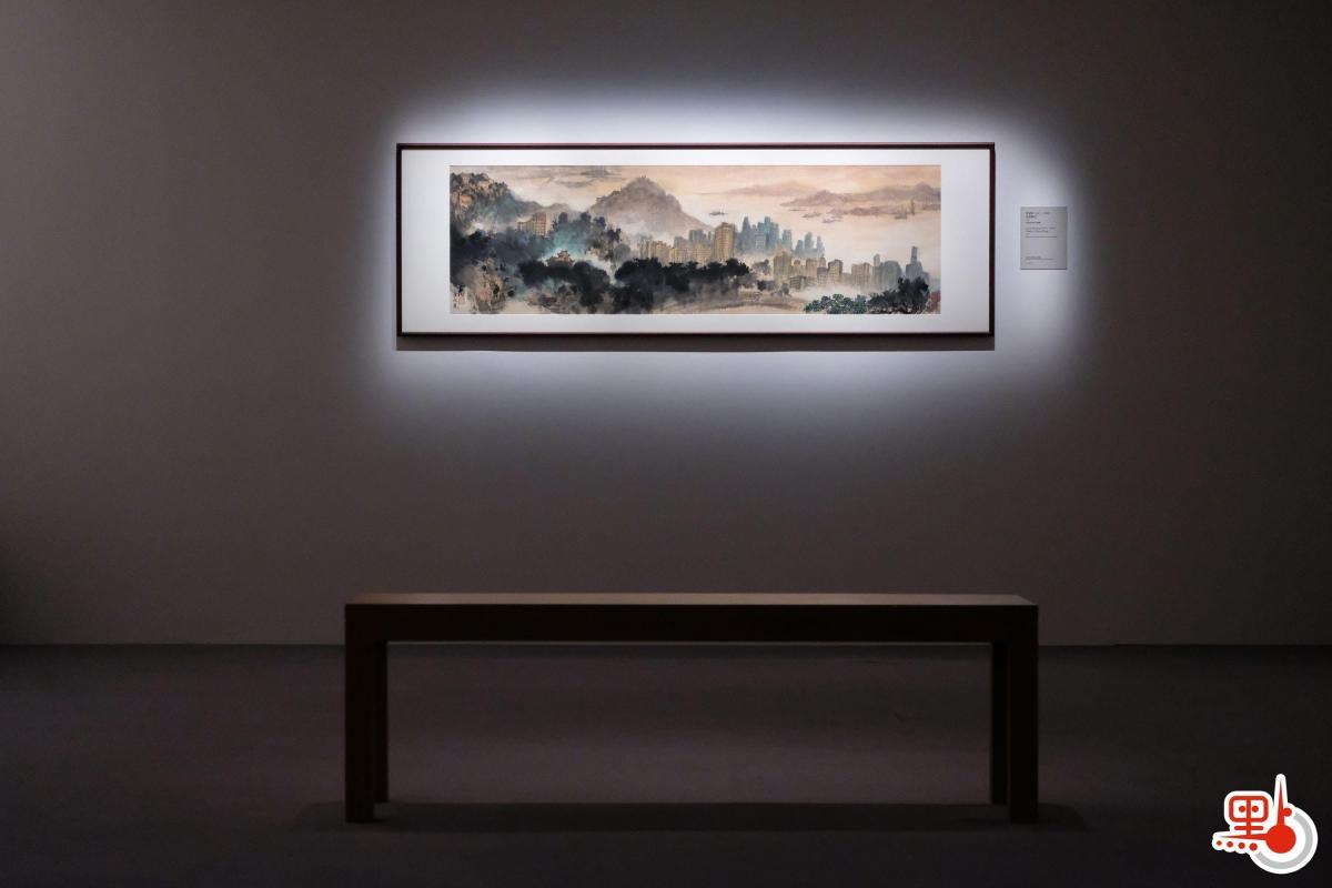廣東畫家群體中,「折衷派」與「傳統派」營壘分明,從衝突走向調和,殊途而同歸,相互補足了20世紀廣東畫壇的全貌,影響一直南延至香港,為早期香港藝術植下萌芽的種子,也為中國近代繪畫史寫下重要篇章。(點新聞記者麥鈞傑攝)