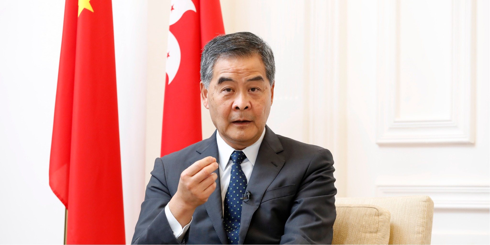 CY Leung: Media organizations cannot override laws