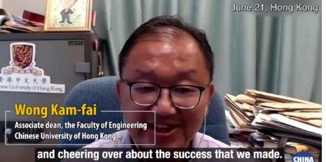 HK scientist welcomes  national aerospace experts visit