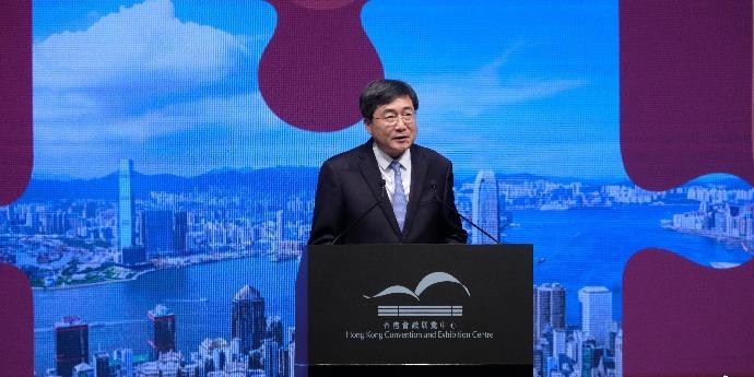 張旭:香港要堅定文化自信 發揮紐帶作用