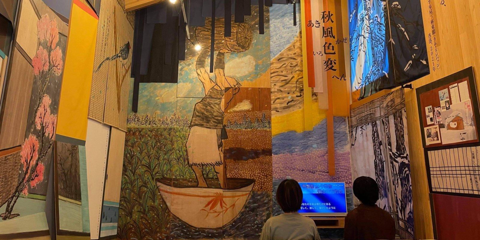 港日合辦全球最大戶外藝術節 藝術家遙距創造《半步屋》